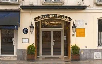 Hotel du Quai Voltaire, Paris; GM lodged