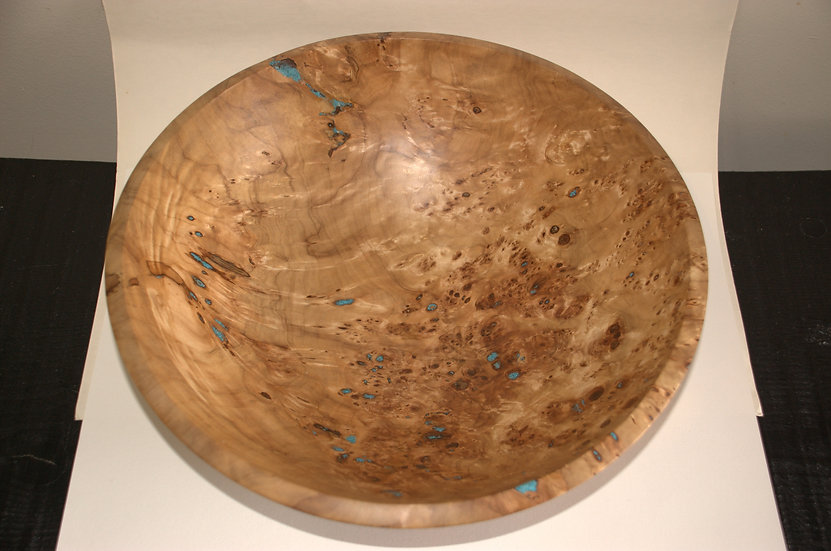 Turquoise and Burl