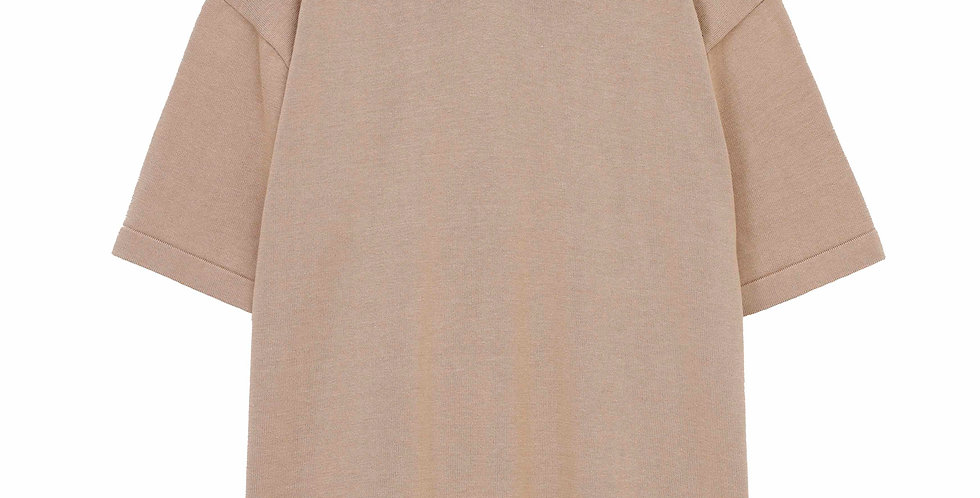 K509 SILK COTTON V-NECK