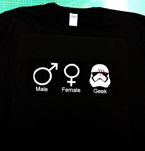 star wars geek t shirt
