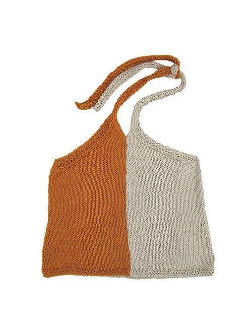 Hand knit summer top