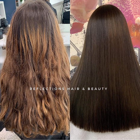 Brunette Queen Reflections Hair Package