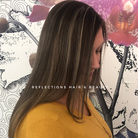 Hint of Blonde Reflections Hair Package