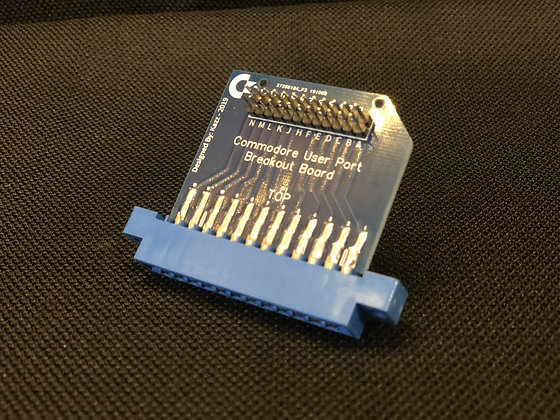 COMMODORE C64 User Port breakout board / project board