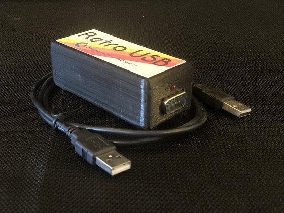 Retro USB Joystick to USB adapter