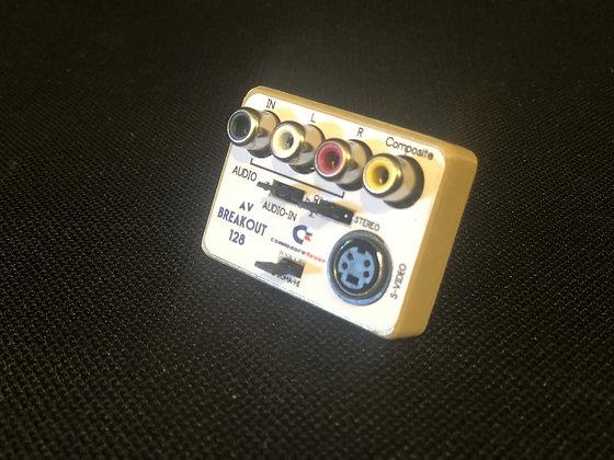 commodore 128, 128D, 128DCR  A/V Breakout