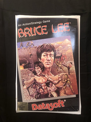 Bruce Lee Box Art Poster