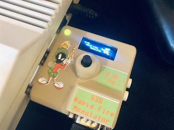 Q36 Rapid Fire Modulator - Commodore 64 Port Switcher Rapid Fire