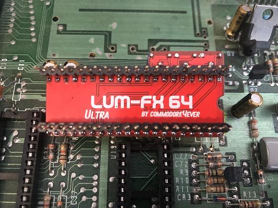 commodore4ever LUM-FX 64 Ultra