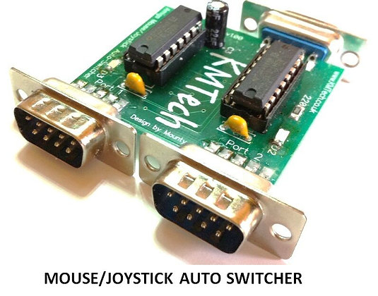 Amiga Joystick / Mouse Auto Switcher
