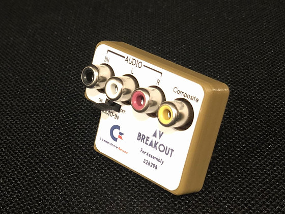 Commodore 64 A/V Breakout 5 pin assembly 326298