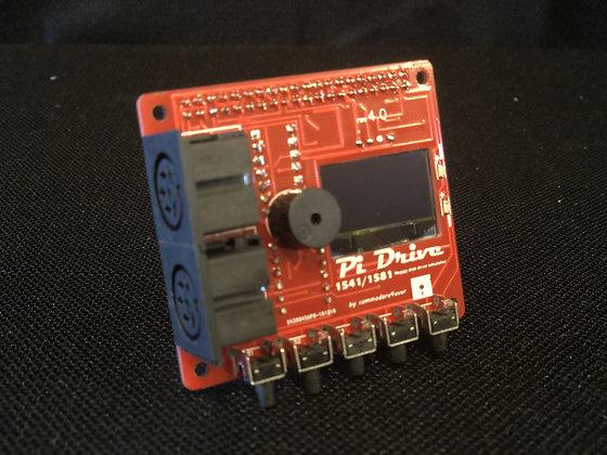 PiDRIVE *RED EDITION* Raspberry Pi HAT 1541 1581 Commodore 64 128 Vic-20 Emulato