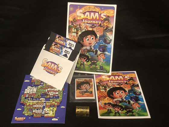 Sam's Journey NTSC 2-Floppy Disk set
