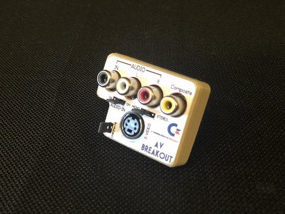 Commodore 64 A/V Breakout 8 pin