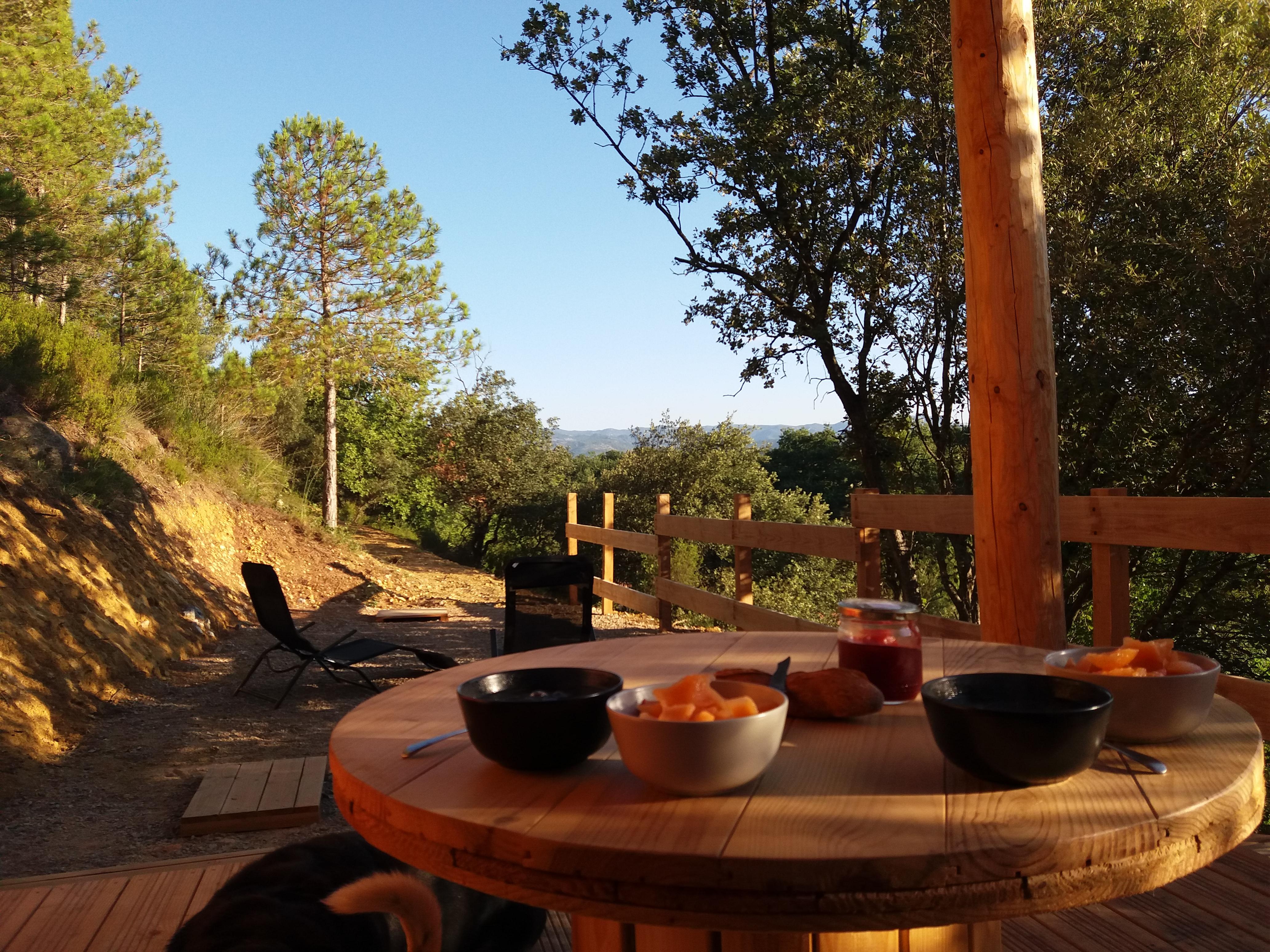 vue extérieure -Terrasse
