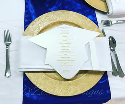 Graduation Dinner Table Setting
