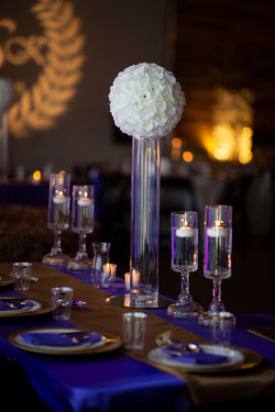 Bridal Party Table Decor