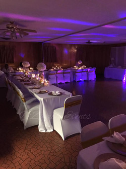 White and Gold Birthday Party