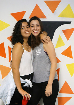 Giulia Romero e Juliana Albuquerque