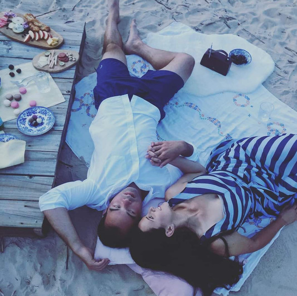 Date night on the beach