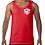 Thumbnail: Men's Tank - WHITE Logo