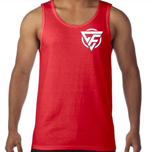 Men's Tank - WHITE Logo