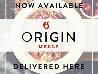 Origin Meals and Announcements