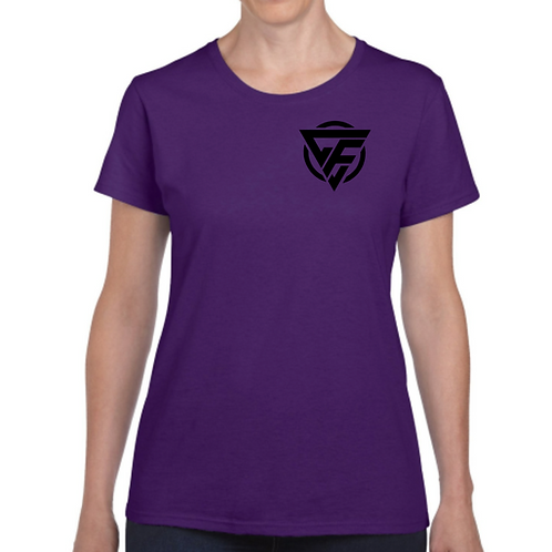 Ladies T-Shirt - BLACK Logo
