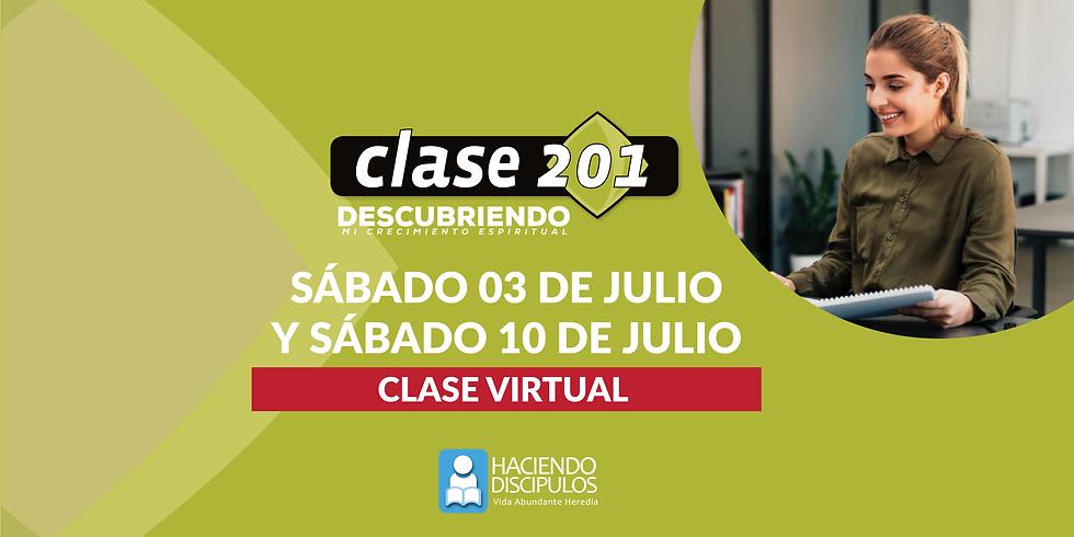 CLASE 201 Virtual - Discipulado