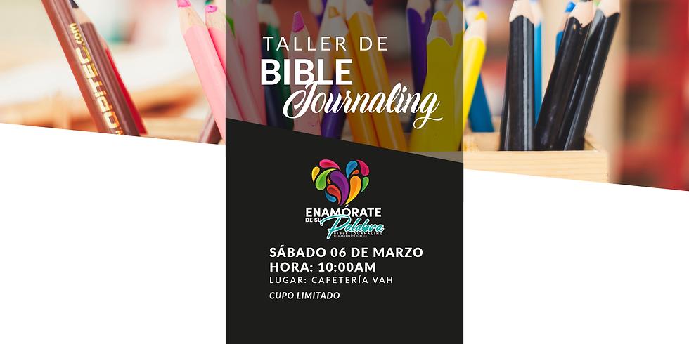 Taller de Bible Journaling  Cafetería