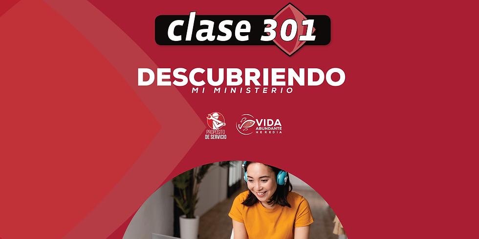CLASE 301 VIRTUAL - Conociendo mi ministerio