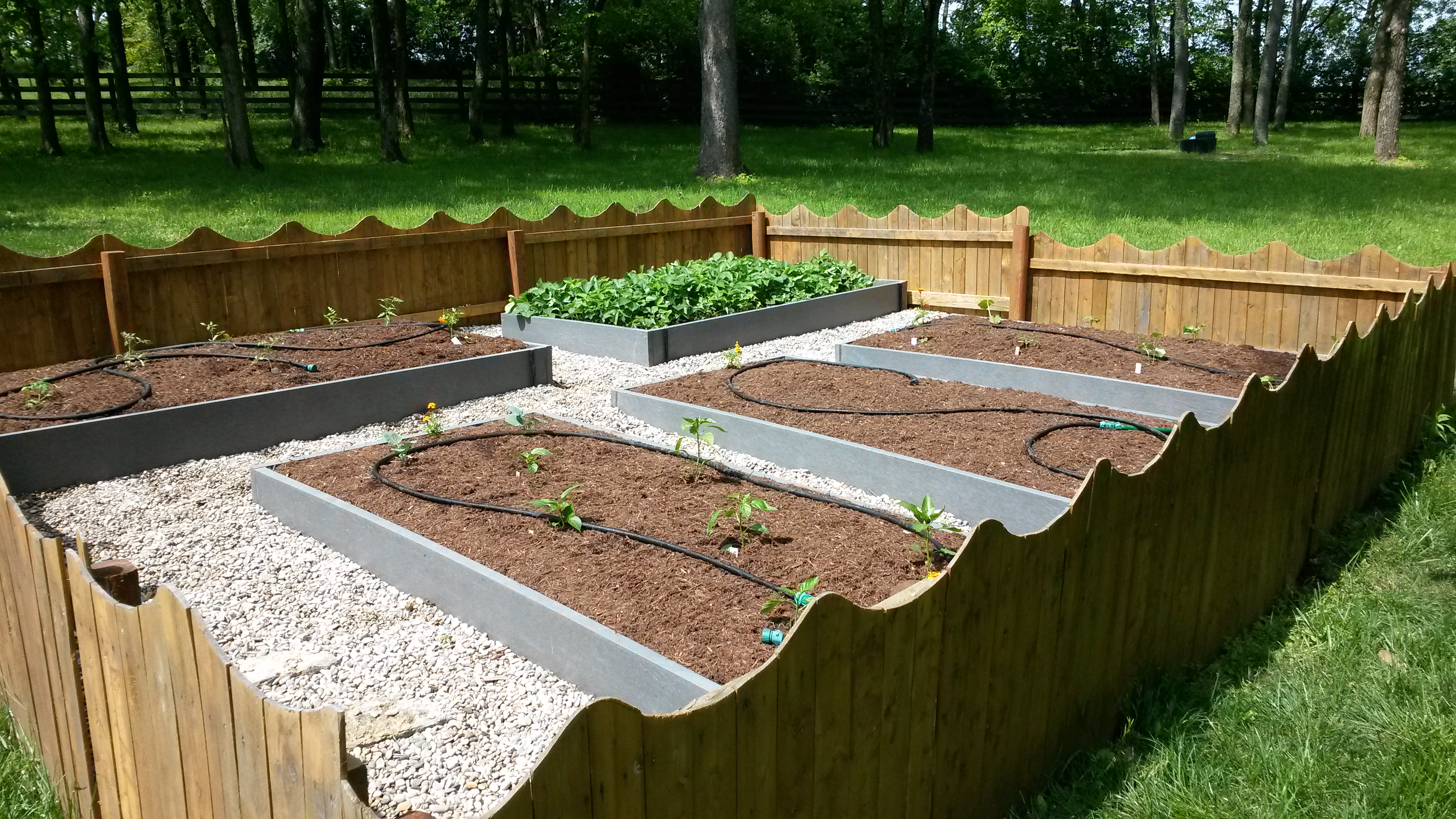 complete garden project