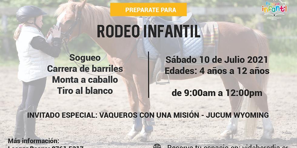 Rodeo de la Pastoral Infantil 4-12años