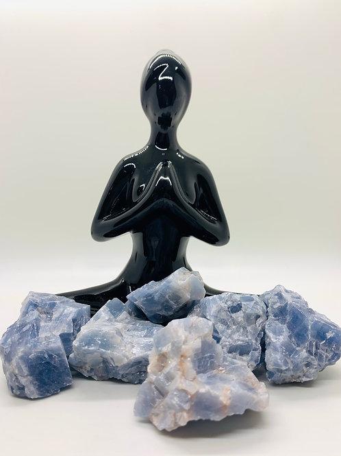 Blue Calcite Natural  Rough