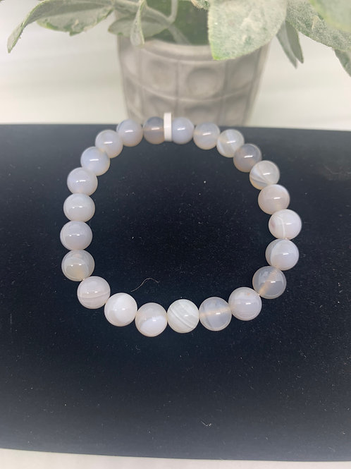 Banded Agate Beaded
