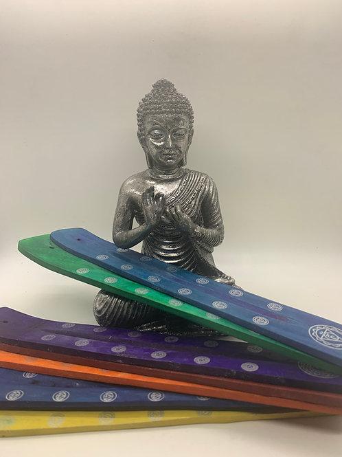 Wooden Chakra Incense Holder