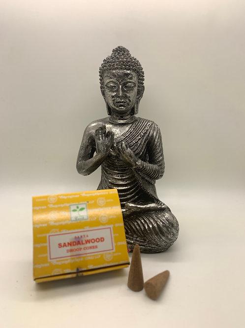 Satya Sandalwood Incense Dhoop Cones