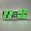 Thumbnail: Электронные светодиодные часы, 12/24 дисплей, будильник, термометр
