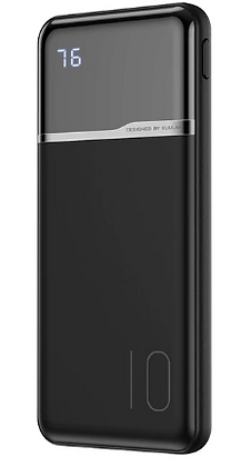 Внешний аккумулятор KUULAA, 10000 mah, 2 USB