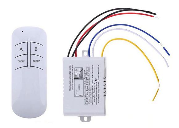 Беспроводной выключатель света, в комплекте с пультом