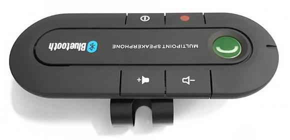 Портативный автомобильный Bluetooth комплект громкой связи Hands-Free