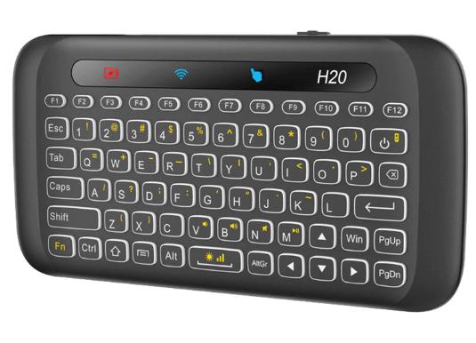 Беспроводная сенсорная клавиатура с подсветкой H20 + тачпад с подсветкой