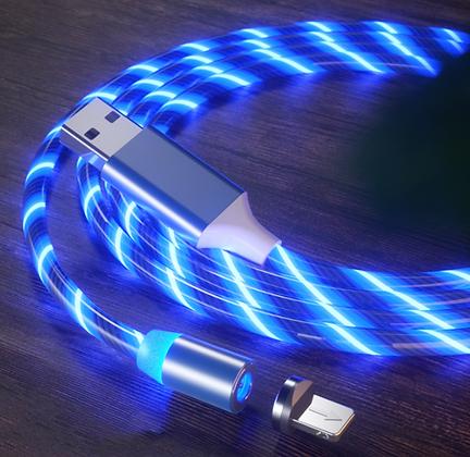 Светящийся магнитный кабель