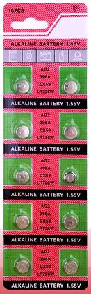 Батарейка часовая AG2 LR726 1.55V