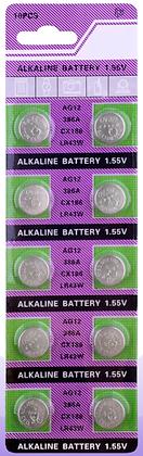 Батарейка часовая  AG12 (LR43) 1.55V