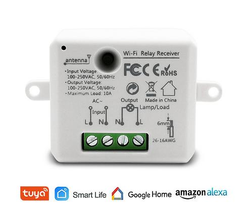 Smart Switch Tuya 1CH W-Fi, 400W/10A