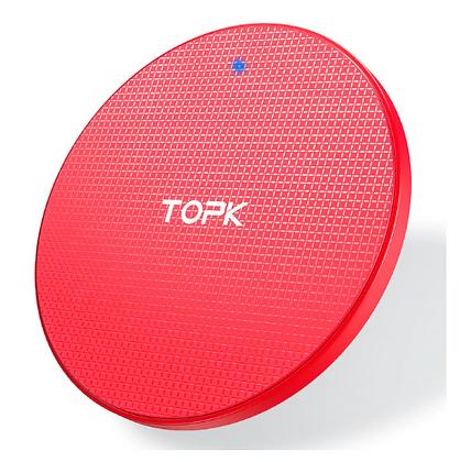 Беспроводное зарядное устройство TOPK для мобильного телефона (быстрая зарядка)