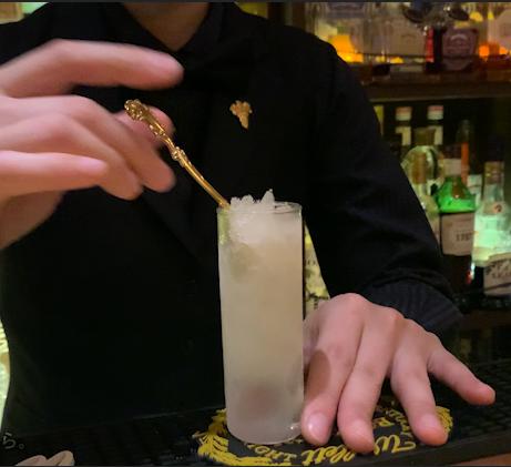 『おうちで梅酒のかき氷』