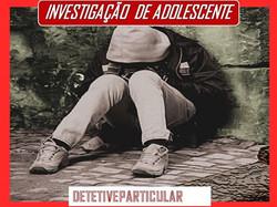 Investigação de filhos Adolescente
