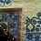 Thumbnail: Tapete de Arraiolos - D. Inês (azuis)